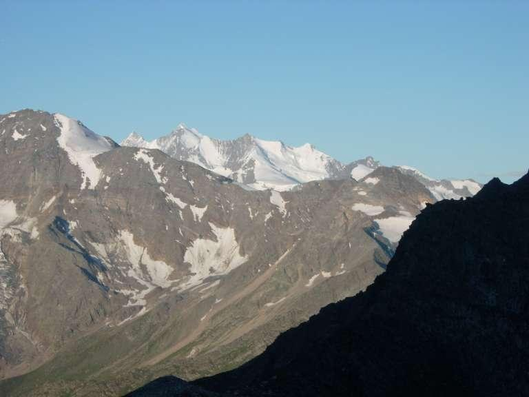 I Mischabel visti dal Breithornpass
