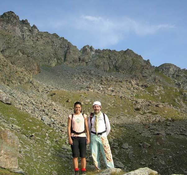 cresta Dumontel dal lago Ciardonnet 2560m
