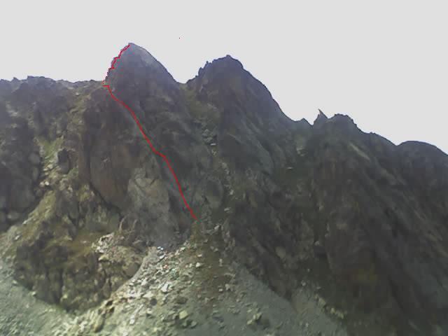 Lausfer (Cima di) Via del ranocchio 2007-08-04
