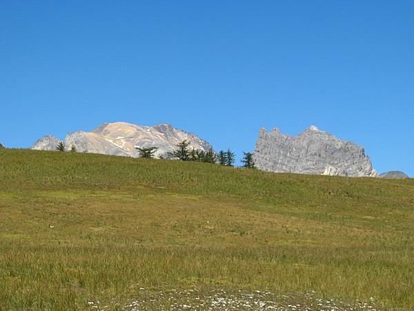 Thabor e Grand Séru dal Col di Thures.