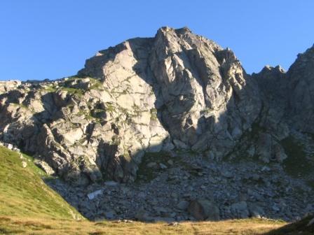 La parete sud est del Cossarello