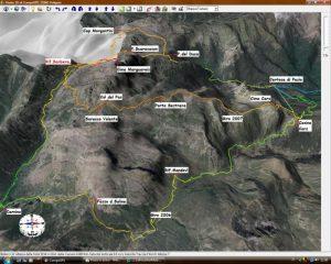 Traccia GPS su mappa 3D