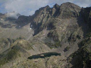 lago laiet dalla punta di motta