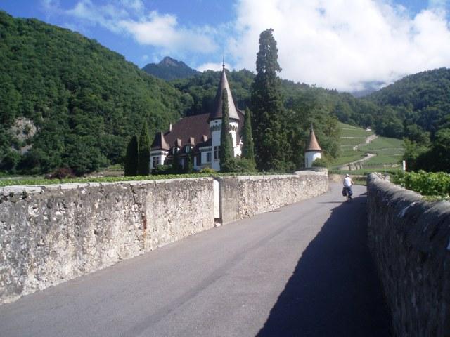 La Suisse A Velo Percorso panoramico delle alpi (N° 4) 2007-08-21