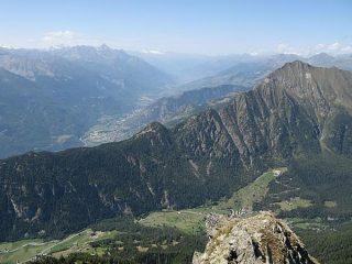 Valle Centrale e cresta sud-est dello Zerbion