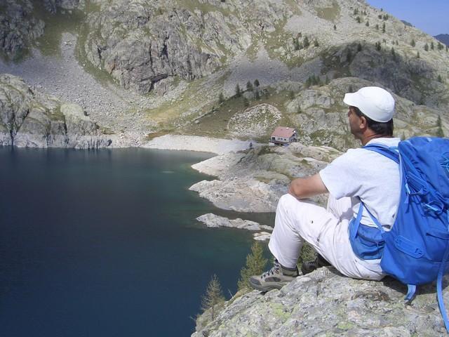 lago verde della valmasca
