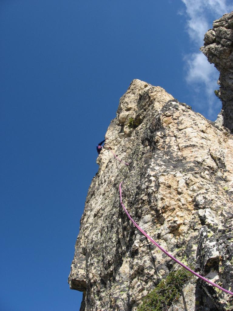 Valcuca (Cima di ) quota 2453 Sperone SO 2007-09-04