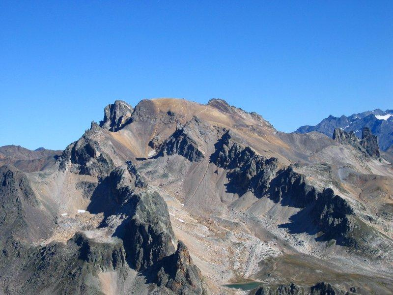 Il Thabor, visto dalla vetta