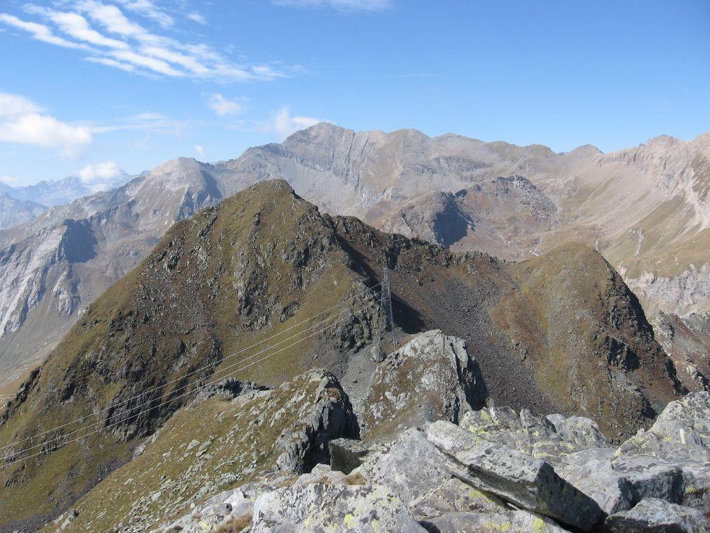 Il Monte Nero dalla Punta Santanel
