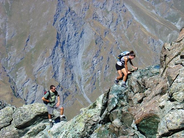 Sere e Giuseppe sulla cresta