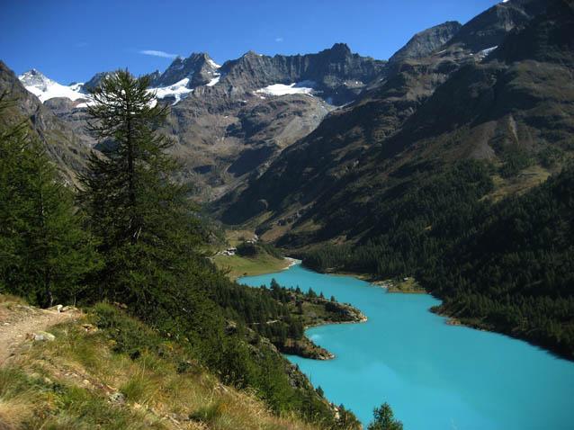 Il lago di Place Moulin