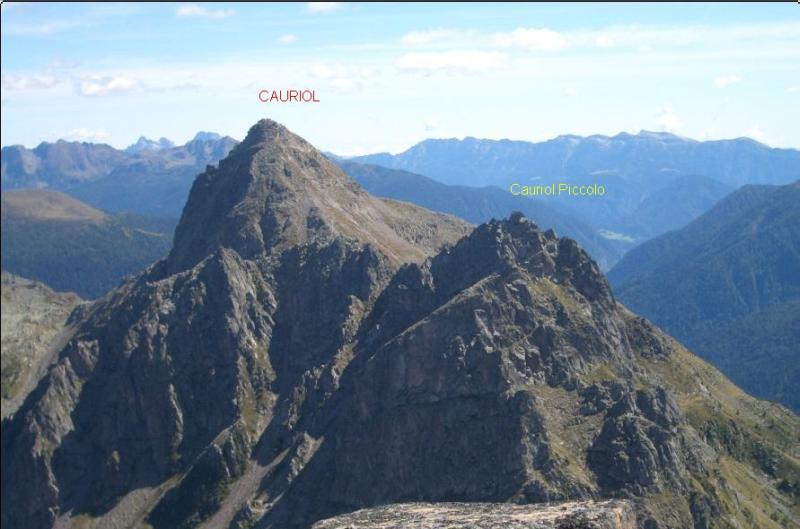 Cauriol (Monte) Via Italiana e Via Austriaca 2007-09-19