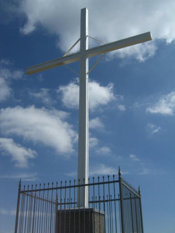 vetta: la Croce