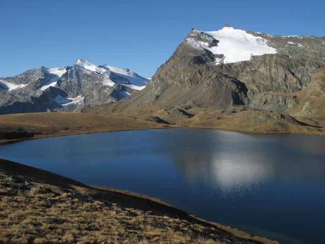 Punta Basei e lago Rosset