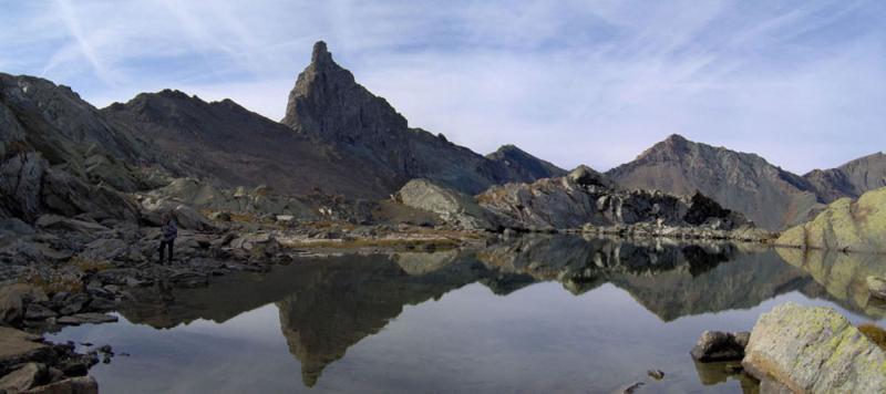 La Roc della Niera dal Lago Blanchet superiore