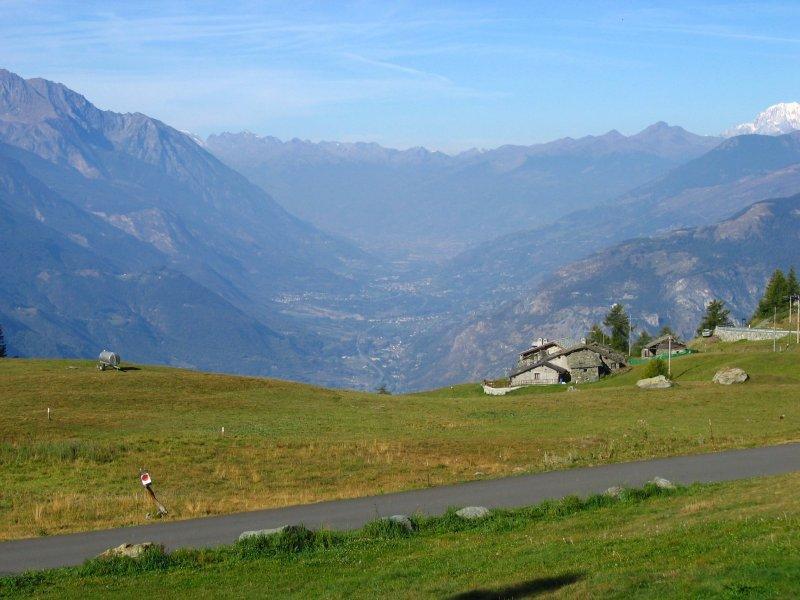 Joux (Col de) da Verres, giro per Saint Vincent , Col Tzecore, Brusson 2007-09-22
