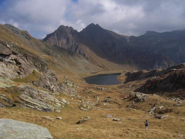 Laris o Larissa e Santanel (Colli) da Outre l'Eve, anello per i laghi Vercoche, Piana, Mulère, Santanel, Chilet 2007-09-23