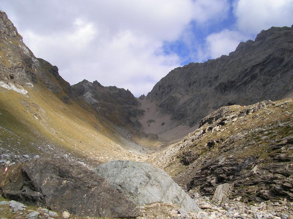 Tamierhorn dal versante W 2007-09-23