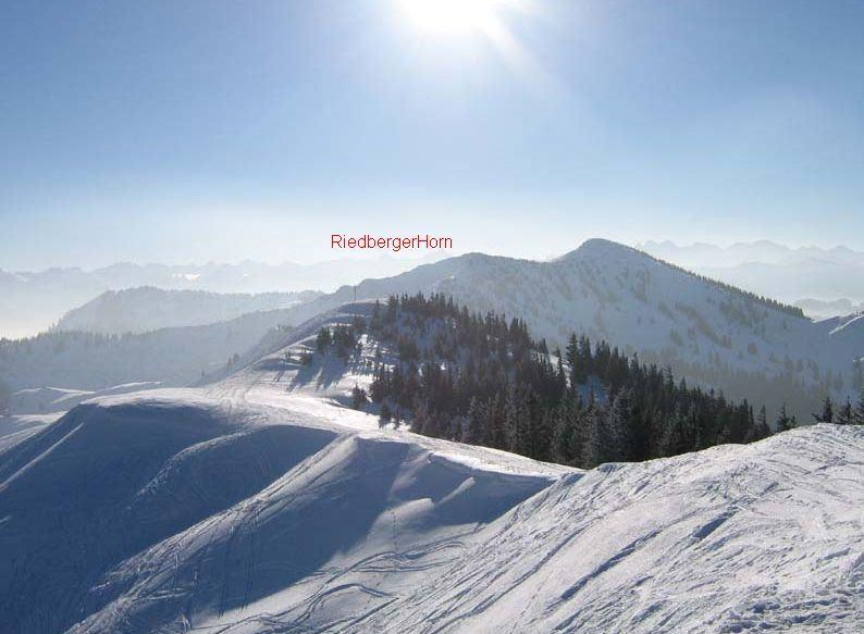 RiedbergHorn - quota 1786 da Schwaben Hof 2007-03-19