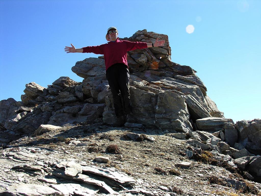 in vetta al Pic de la Farneireta (14-10-2007)
