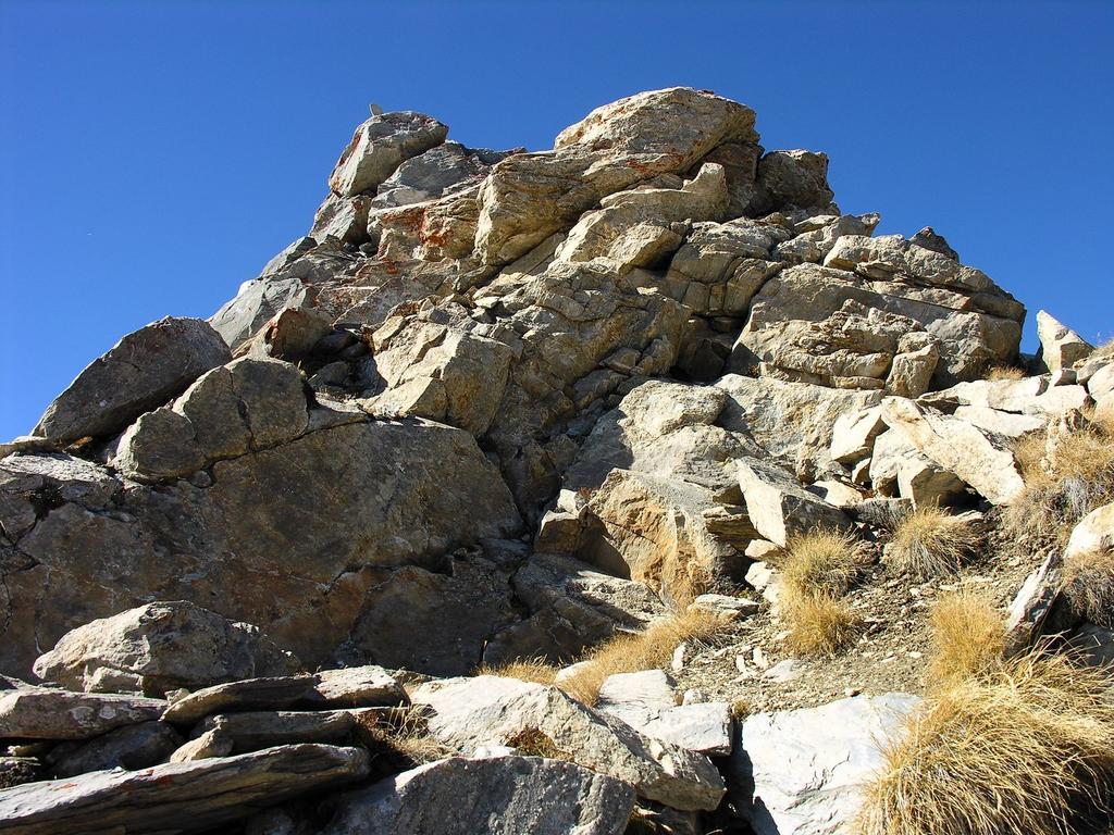 la vetta del Pic de la Farneireta (14-10-2007)
