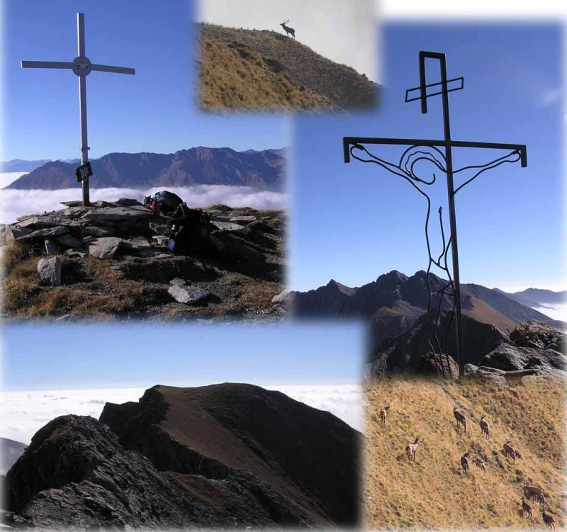 Traversata di cresta Monte Pelvo-Francais Pelouxe