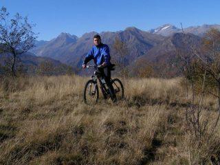 Paesaggio dal Monte Garnè