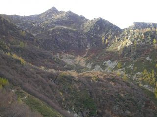 Arrivo all'Alpe Stella