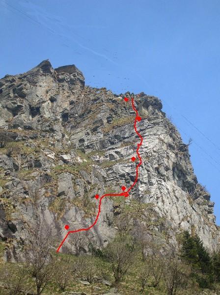 Tovo (Monte) Via Diagonale 2007-10-23