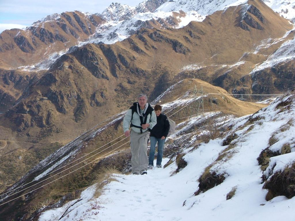 passaggi sulla neve in svizzera