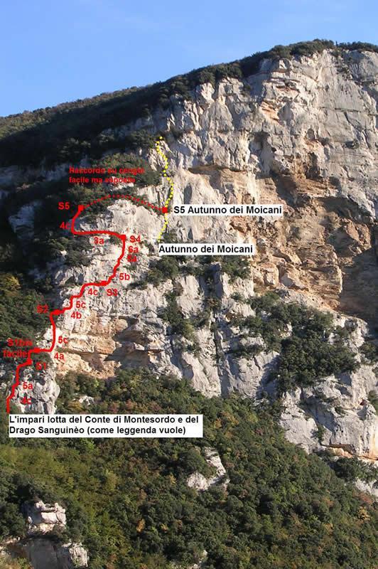 Pianarella (Bric) L'impari lotta del Conte di Montesordo e del Drago Sanguineo 2007-11-04