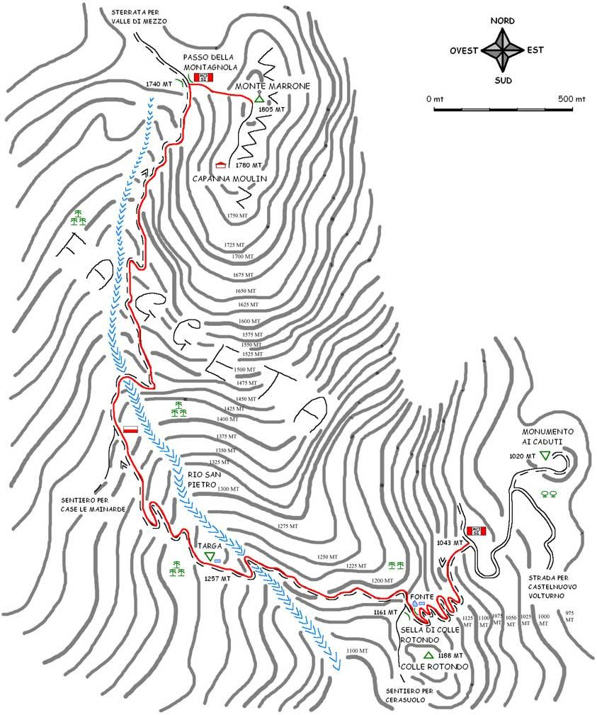 Marrone (Monte) dalla Valle Viata 2013-05-26