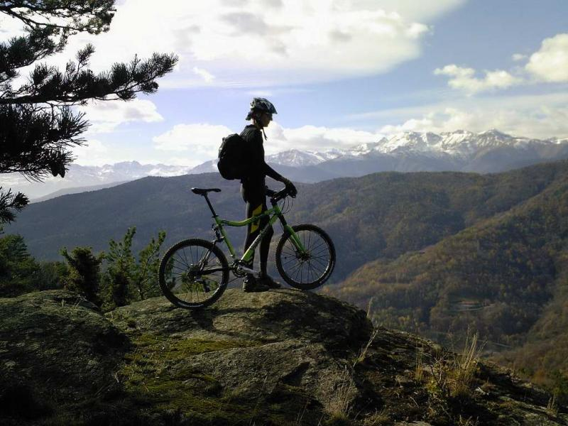 Vista sulla Val Lemina