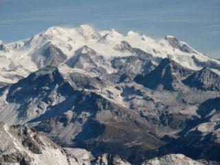 Panorami osservati dalla cima : il Gruppo del Monte Rosa (11-11-2007)