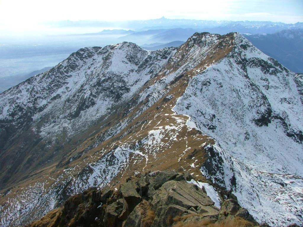 traversata di cresta dal piano dei francesi 2168m alla quinseina2344m