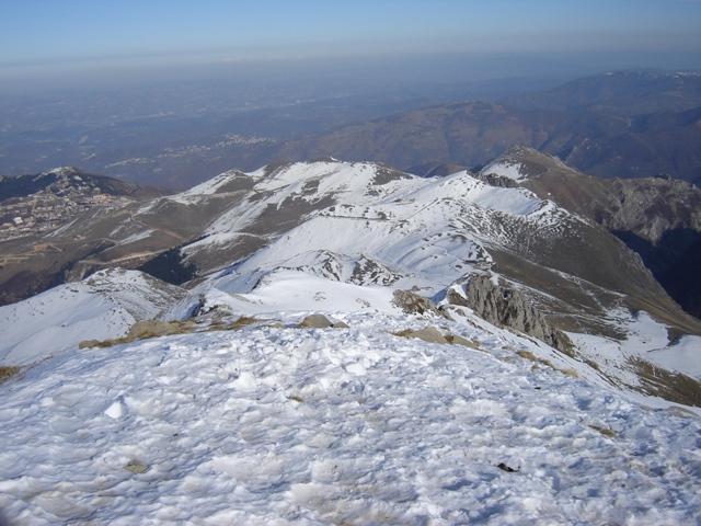 Uno sguardo verso Prato Nevoso