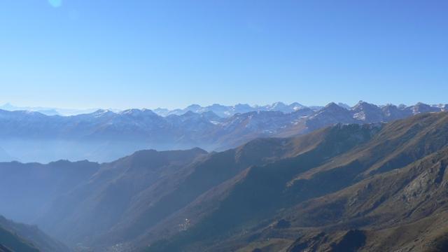 panoramica dalla cima