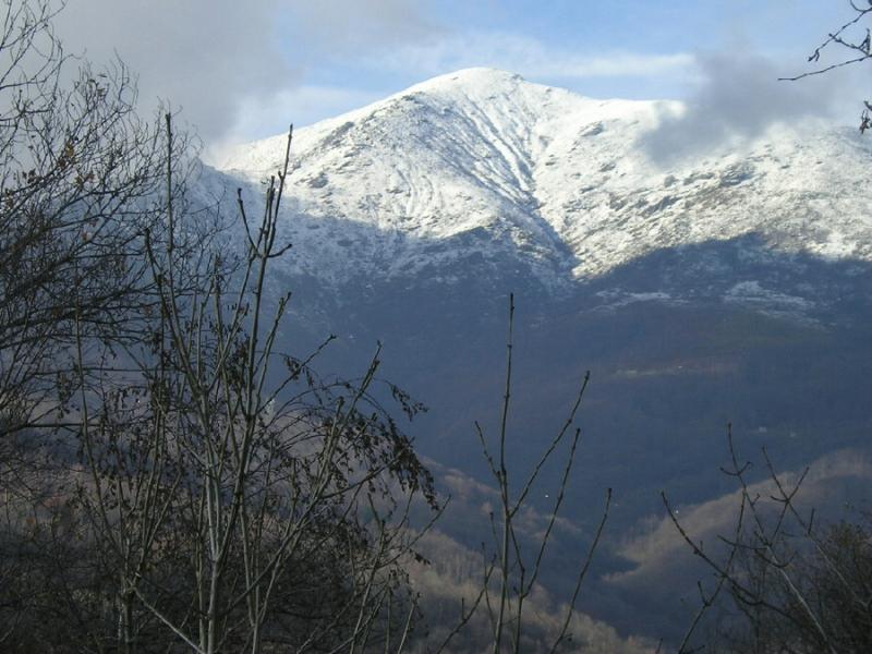 il monte soglio salendo all'alpe di nono 25/11/2007