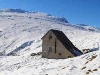La salita alla Durand, vista dalla Turra