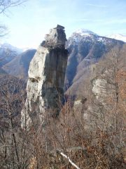 Torre delle Giavine pareti nord ed est