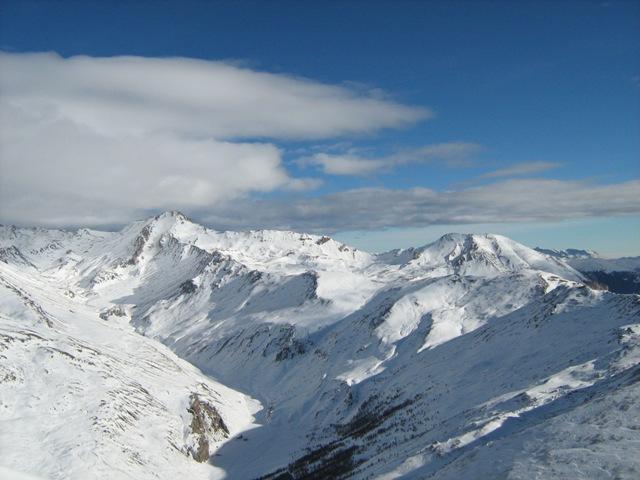 panoramica verso la Valfredda