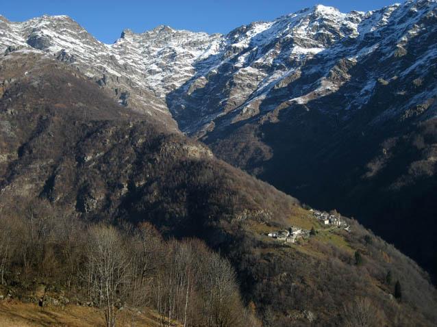 La splendida frazione di Succinto in Valchiusella