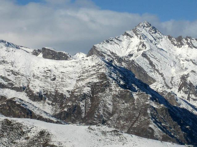 Il monte Marzo alla testata della valle