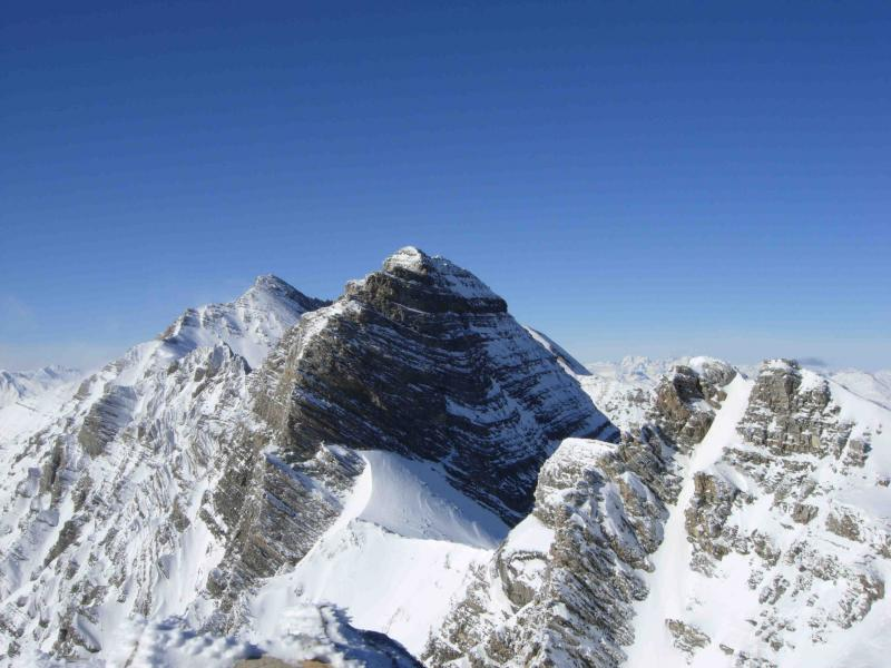 Tete du Coi de L'Ours vista dalla cima