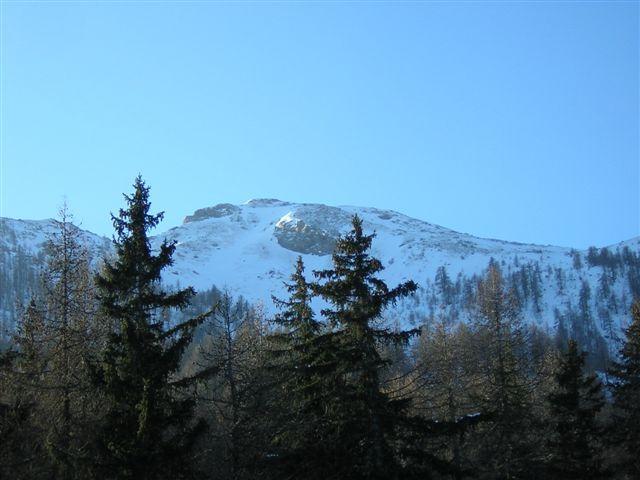 Monte Corquet dal posteggio di Druges alta