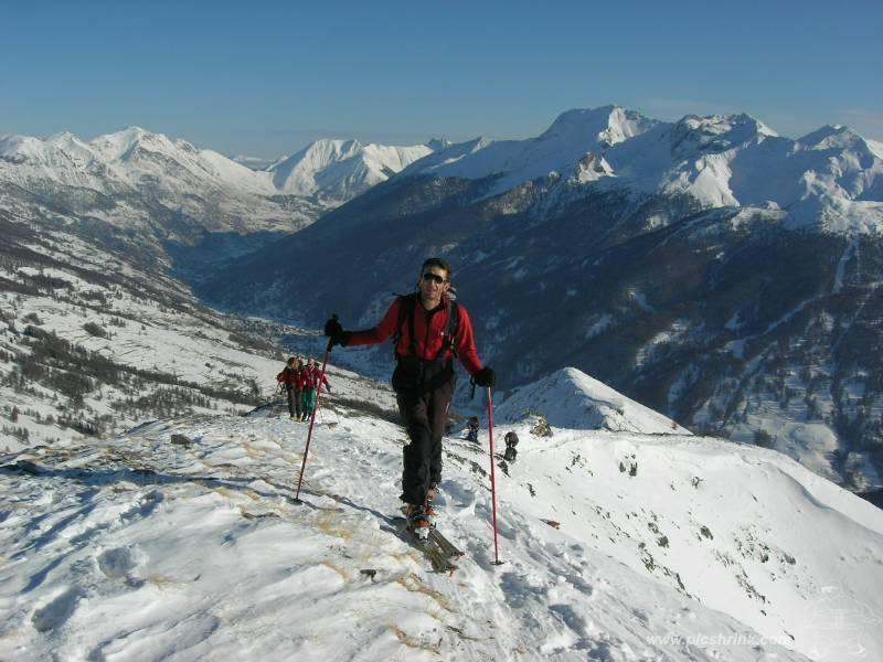 ...Max, val Chisone e poca neve in cima. foto m.conti