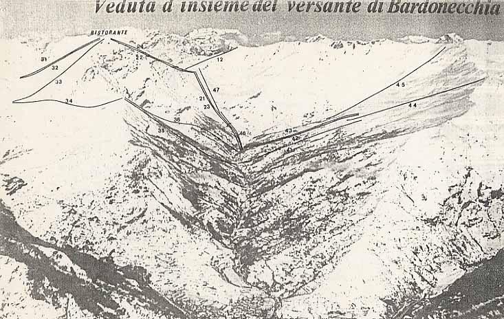 Impianti Valfrejus lato Bardonecchia