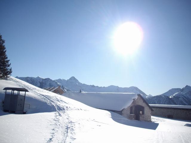 Dal colle q.2261 sotto l'Infernet vista sul Pic de Rochebrune