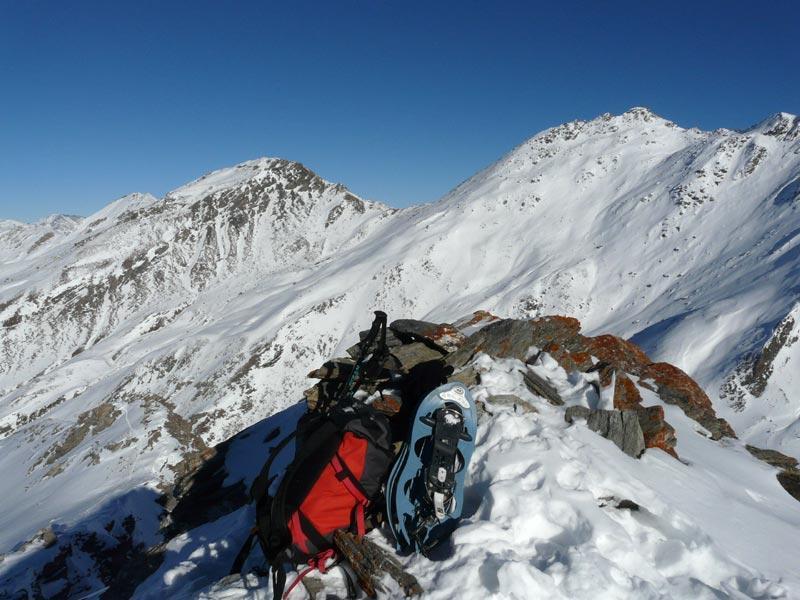 Pelato (Monte) da Pattemoucche per la cresta NO 2007-12-27