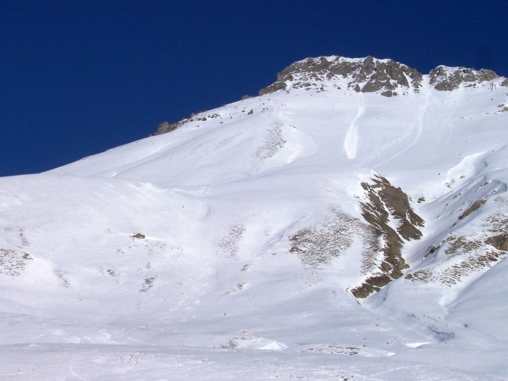 Blaves (Tete de) dal Colle della Maddalena 2007-12-28